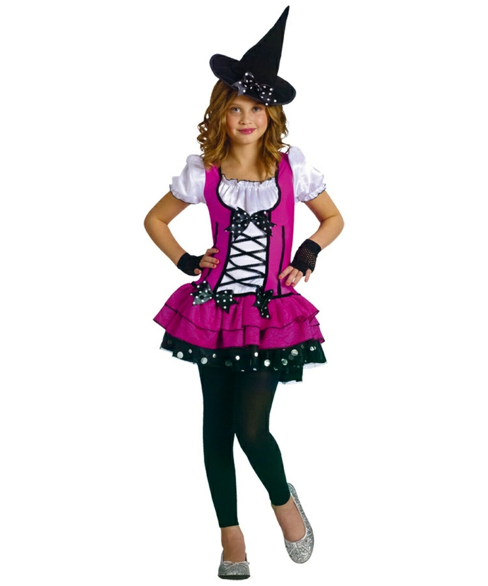 Sugar And Spice Witch Costume - Girl Costumes