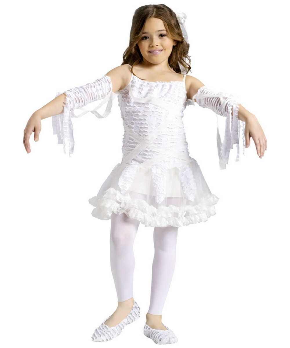 mummy tutu kids costume girl egyptian costumes - Egyptian Halloween Costumes For Kids