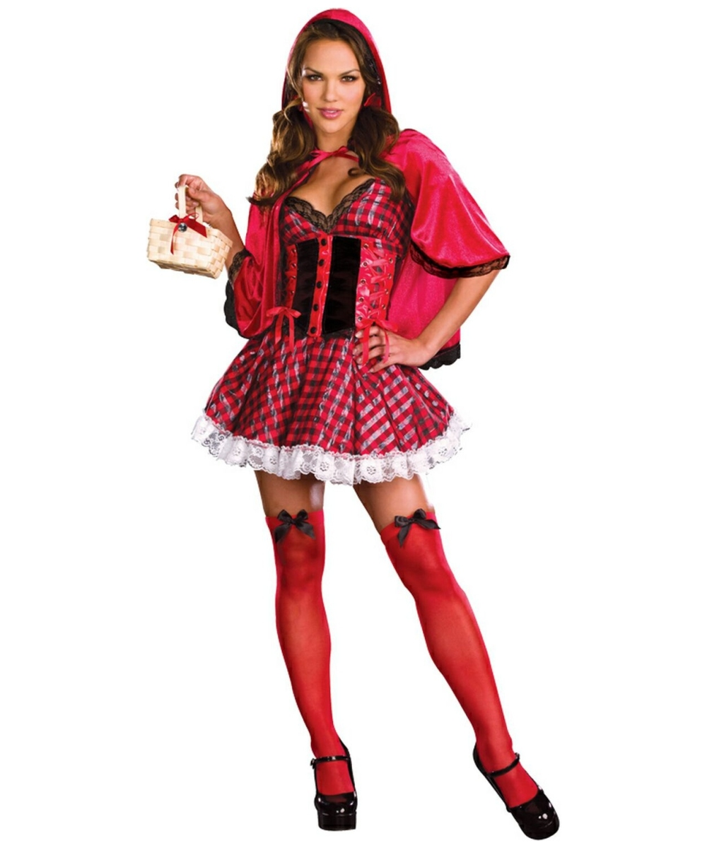 Not give Adult little red riding hood costumes