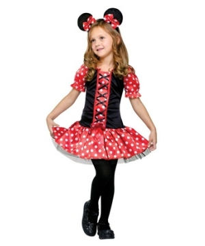 Miss Mouse Girls Costume