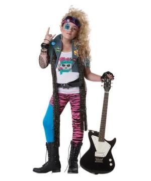 80s Glam Rocker Kids Costume