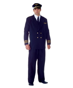 Airline Captain plus size Costume