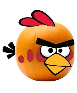 Angry Birds Halloween Decoration