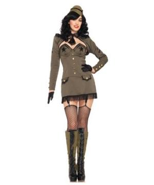Army Girl Womens Costume