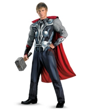 Adult The Avengers Thor Movie Costume - Men Costumes