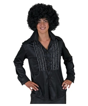 Black Saturday Night Men Costume