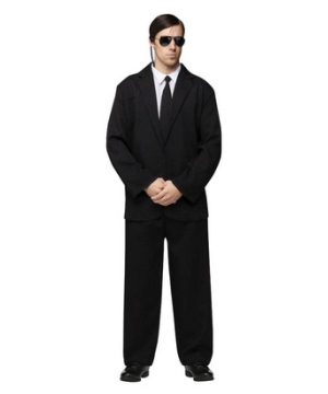 Black Suit Men Costume