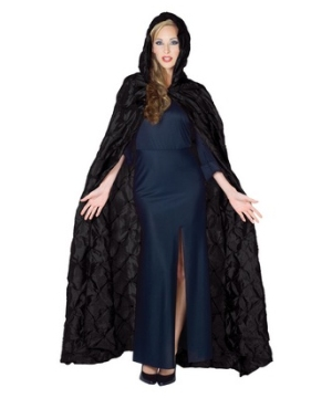 Black Tafetta Cape