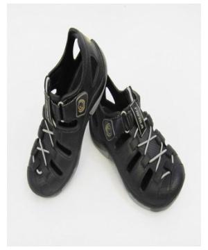 Black Trailbreak Clog Kids Shoes