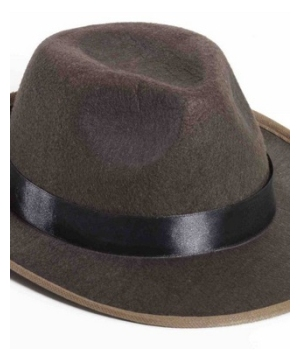 Brown Fedora Men Hat
