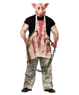 Butcher Pig Costume