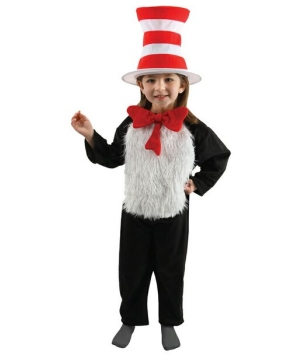 Cat in Hat Kids Costume
