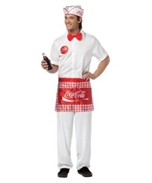 Coca Cola Soda Men Costume
