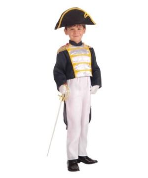 Colonial General Kids Costume
