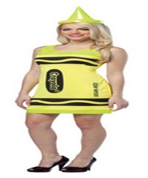 Crayola Neon Tank Dress Costume