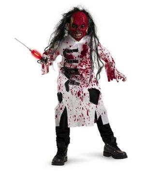 Demented Doctor Kids Costume