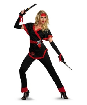 Dragon Lady Ninja Womens Costume