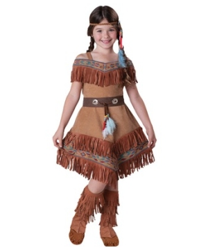 Elegant Indian Girls Costume