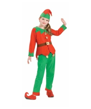 Elf Kids Costume