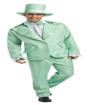 Funky Tuxedo Pastel Green Adult Costume