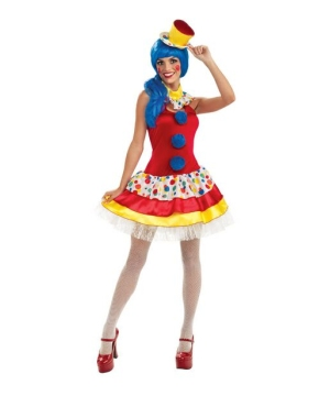 Giggles Clown Women Costume
