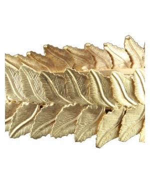 Gold Leaf Headpiece
