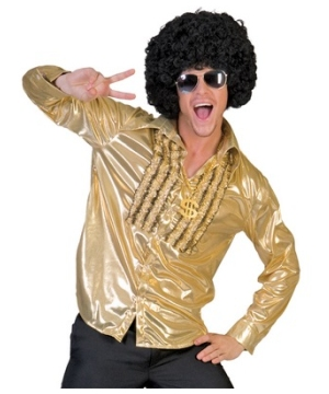 Gold Saturday Night Men Costume