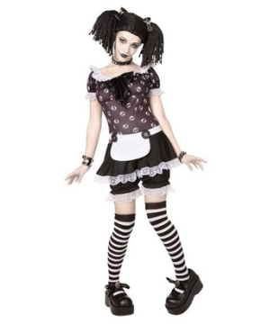 Pics for gothic doll costume - Deguisement dame blanche ...