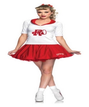 Grease Rydell High Cheerleader Women Costume