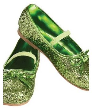 Green Child Flat Shoes