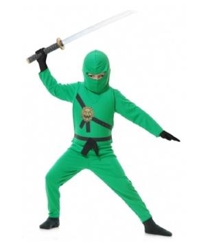Green Ninja Kids Costume