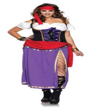 Gypsy plus size Costume
