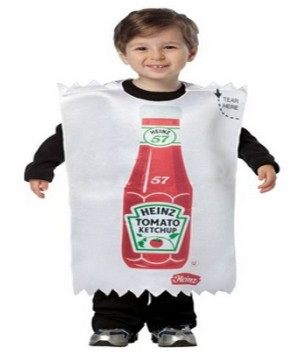 Kids Ketchup Packet Costume