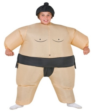 Kids Inflatable Sumo Costume