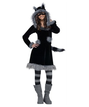 Kids Raccoon Costume