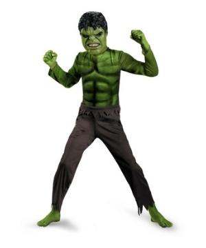 Kis Avengers Hulk Costume