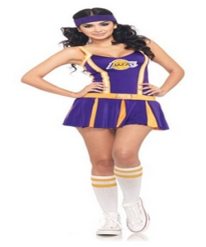 Lakers Cheerleader Womens Costume