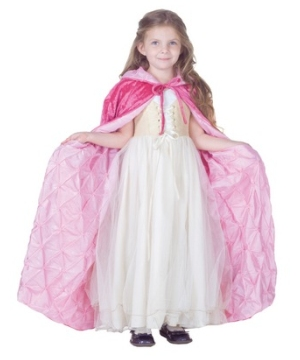 Light Pink Cape Girl Costume