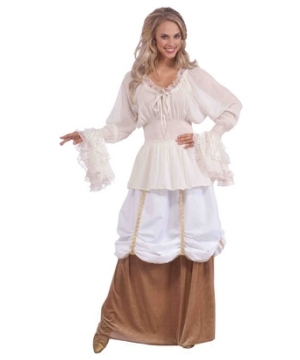 Medieval Blouse plus size Costume