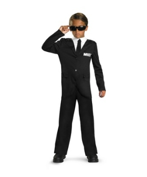 Men in Black Boys Costume