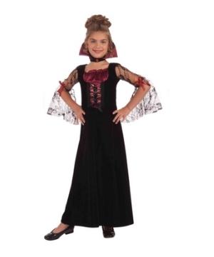 Miss Vampire Girls Costume
