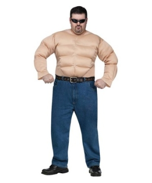 Muscle Man plus size Costume