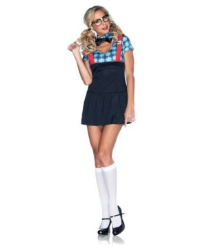 Naughty Nerd Womens Costume