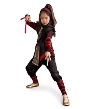 Ninja Dragon Girl Costume