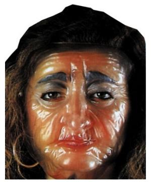 Old Female Adult Mask