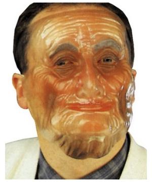 Old Man Adult Mask