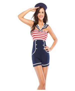 Pin up Sailor Women Costume