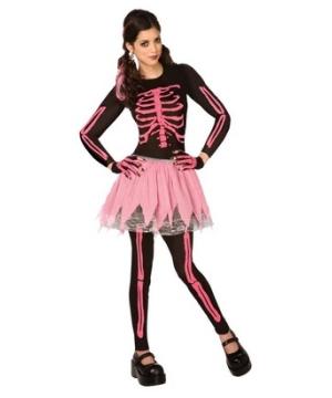 Pink Punk Skeleton Costume