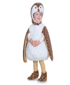 Plush Owl Baby Costume