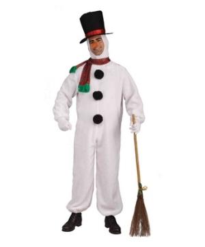 Plush Snowman Costume